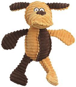"PetRageous Ribrageous Kona the Dog Toy, 13.5"", Gold/Brown"