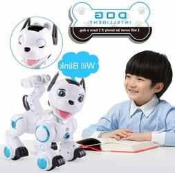 Robot  DOG Puppy Toys Electronic Pets with Light and Sound f