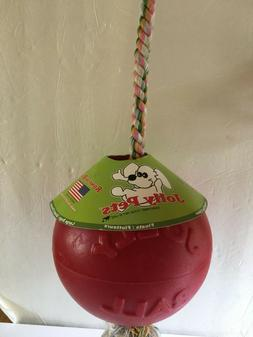 """Jolly Pets ROMP-n-ROLL 8"""" REALLY BIG DOG TOY Weights 1lb14oz"""