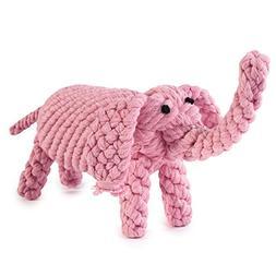 """Zanies Rope Menagerie Dog Toys, 7"""" Elephant"""
