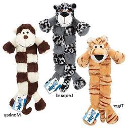 Safari Squeaktaculars Dog Toys Long Flat 12 Squeakers - Choo