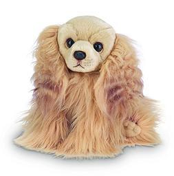 Bearington Sandy Cocker Spaniel Plush Stuffed Animal Puppy D