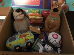 Barkbox Scoob! Dog Squeak Toys Lot For Small Dog Complete Se