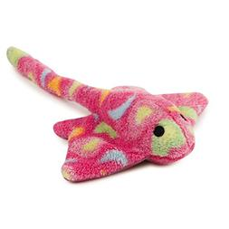 Zanies Sea Charmer Dog Toys, Pink Stingray, 11""