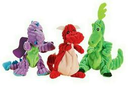 Set of 3 Dragon Pet Dog Toys Small to Medium Puppy Playtime