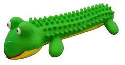 Amazing Pet Products Shaggy Latex Frog Squeek Toy, 6-Inch