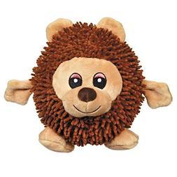 Silly Shaggies Soft Plush Ball Shaped Dog Toys - Choose Bear