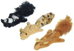 Skinneeez Forest Creatures Cat Toy