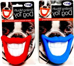 Smiling Mouth Squeaky Dog Toy Chew Novelty Gift Pet Toys Fun