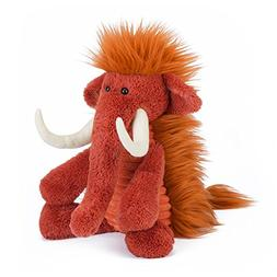 Jellycat Baggles Winston Wolly Mammoth Stuffed Animal, 15 in