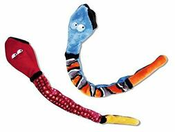 KONG Snake Dog Toy, Large, Colors may Vary