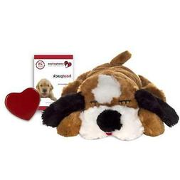 SmartPetLove Snuggle Puppy Behavioral Aid Toy, Brown and Whi