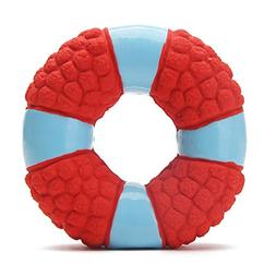 EETOYS Soft Bouncing Latex Squeaky Floating Toy Fetch Throw