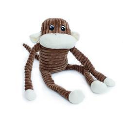 ZippyPaws Spencer The Crinkle Monkey, Large