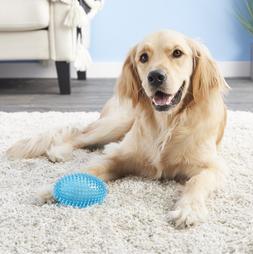 Top Paw® Spiky Football Dog Toy - Squeaker - Medium - BLUE