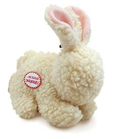 Spot Fleece Rabbit Dog Toy Size:Pack of 2