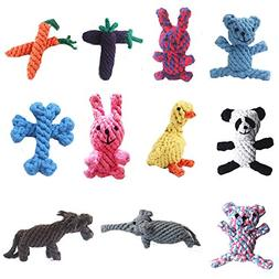 New Spot Pet Cotton Rope Toy Dog ??Pure Hand-Made Rabbits Re