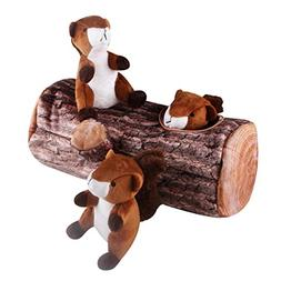 IFOYO Squeak Dog Toys, Large Durable Squirrel Hide and Seek
