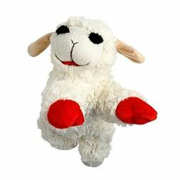 "Squeak Toys Pet Supplies Multi Lamb Chop Dog Toy, 10"" 2-Pack"