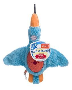 HARTZ Squeak & Treat Duck Treat Dispensing Dog Toy