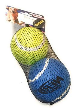 Nerf Dog 2-Pack Squeaker Balls in Regular Size