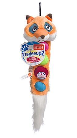 HARTZ Squeakerz Stuffing-Free Plush Woodland Animal Dog Toy