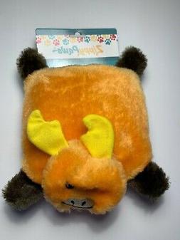 ZippyPaws Squeakie Pad No Stuffing Plush Dog Toy, Moose