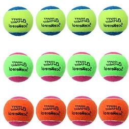 SCENEREAL Squeaky Tennis Balls Toys Dogs Pets Playing Traini