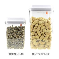 Storage Containers BPA Free Flour Tea Coffee Bean One Touch