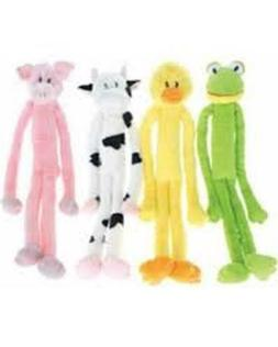 Swingin' Slevins Squeaky Plush Dog Toys by Multipet