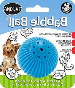 "Pet Qwerks Talking Babble Ball SMALL 2 1/8"""