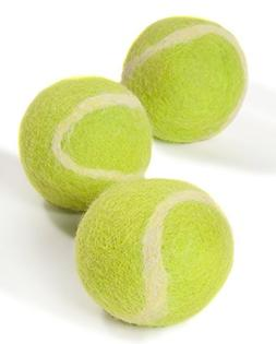 Twin Critters TennisWools - All Natural Tennis Balls For Dog