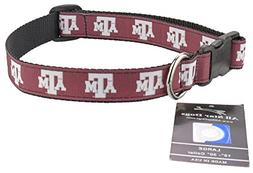 Texas A&M Aggies Ribbon Dog Collar - Extra Small