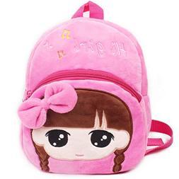 QINA-STAR Toddler Backpack, Little Kid Cute Cartoon Mini Bac