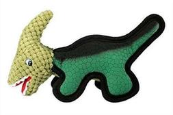 LIZPET ,Tough Dog Squeaker Toys, Dinosaurs Green - Lowest Pr