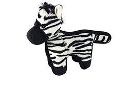 Hyper Pet Tough Plush Zebra Durable Dog Toy with Squeaker