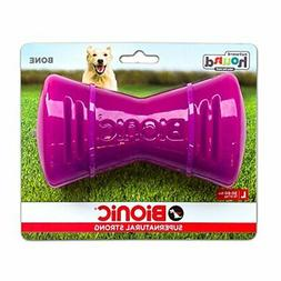 Tough Rubber Dog Bone, Durable Chew Toy for Large Dogs by Bi