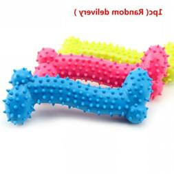 Toys For Small Dogs Rubber Puppy Pet Ball Ring Resistance To