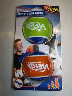 Nerf Dog 2.5 inch TPR Squeak Tennis Ball 2-pack