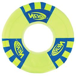 Nerf Dog Trackshot Toss and Tug Flying Ring Dog Toy, Medium,