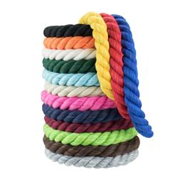 Paracord Planet Twisted Cotton Rope 1/4 & 1/2-in Cord - USA