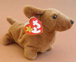 TY Beanie Babies Weenie the Weiner Dog Plush Toy Stuffed Ani
