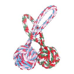 Unitter Dogs & Cats Chewing Toy, Pet Puppy Knotted Rope Toy