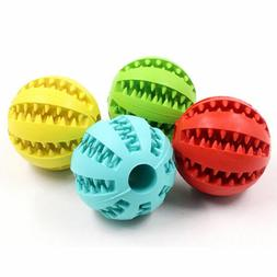 US! Durable Dog Bite Ball Toys for Aggressive Chewers Teethi