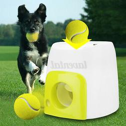 USA Automatic Pet Dog Launcher Tennis Ball Toy Interact Fetc