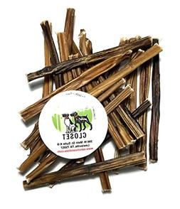 USA 6-inch Extra Thin Bully Sticks for Dogs Made in USA Grai