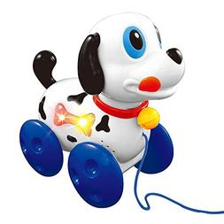 Lightahead® Walk A-long Musical Dog toy, A Sound and Light
