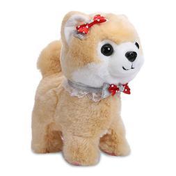 Shinehalo Walking and Barking Puppy Dog Pet Toy Electronic P
