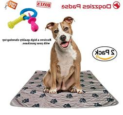 2 pack Washable Pee Pads for Dogs, Pets, Puppy, Housebreakin