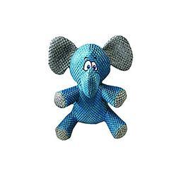 "Multipet Weavie Wonder Elephant Dog Toy, 9"""